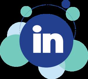 linkedin, social media, icon